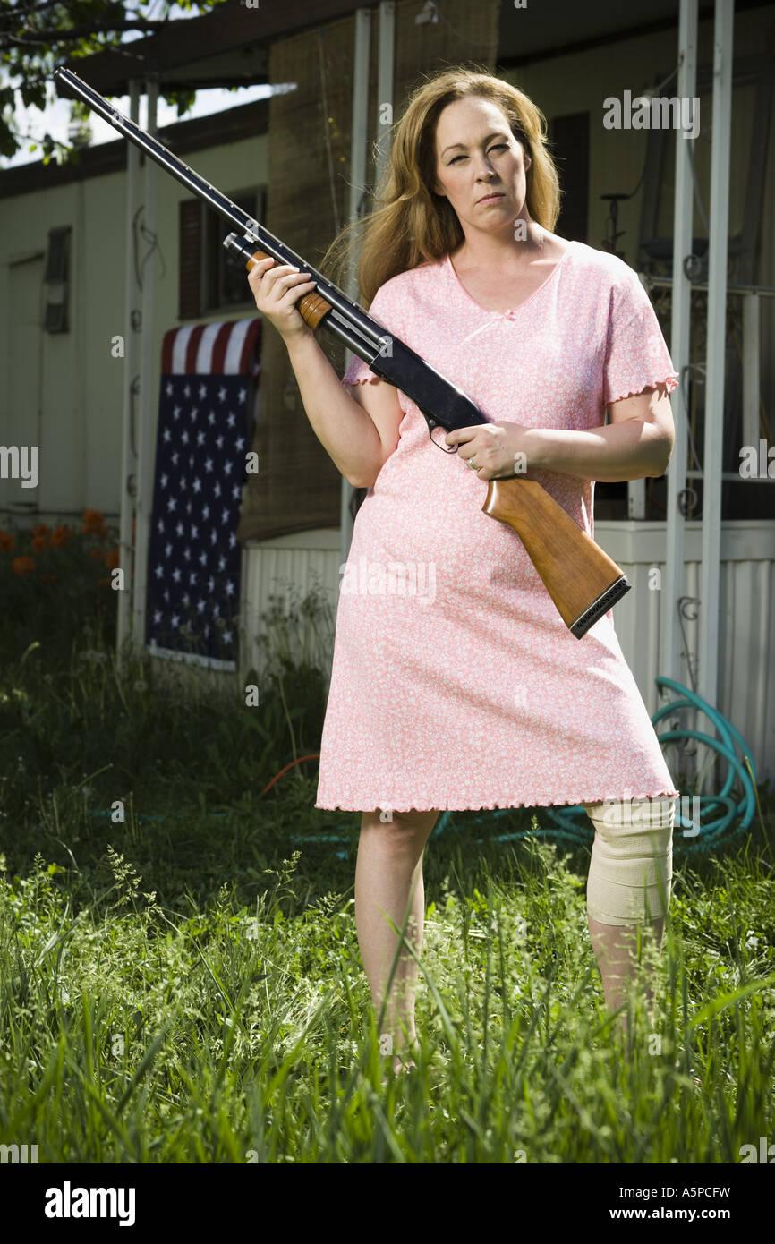 trailer park woman