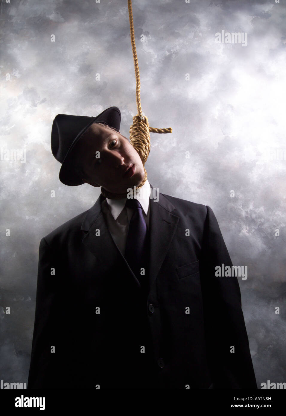 The Hanged Man Predictive Tarot Card Meanings: Hanged Man Stock Photo: 11384560