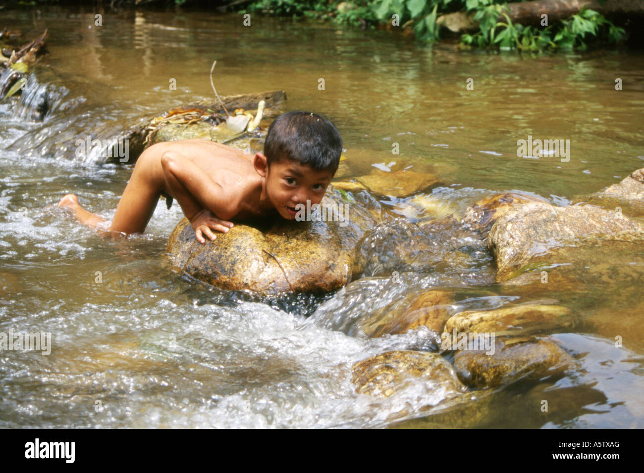 Nude In River 120