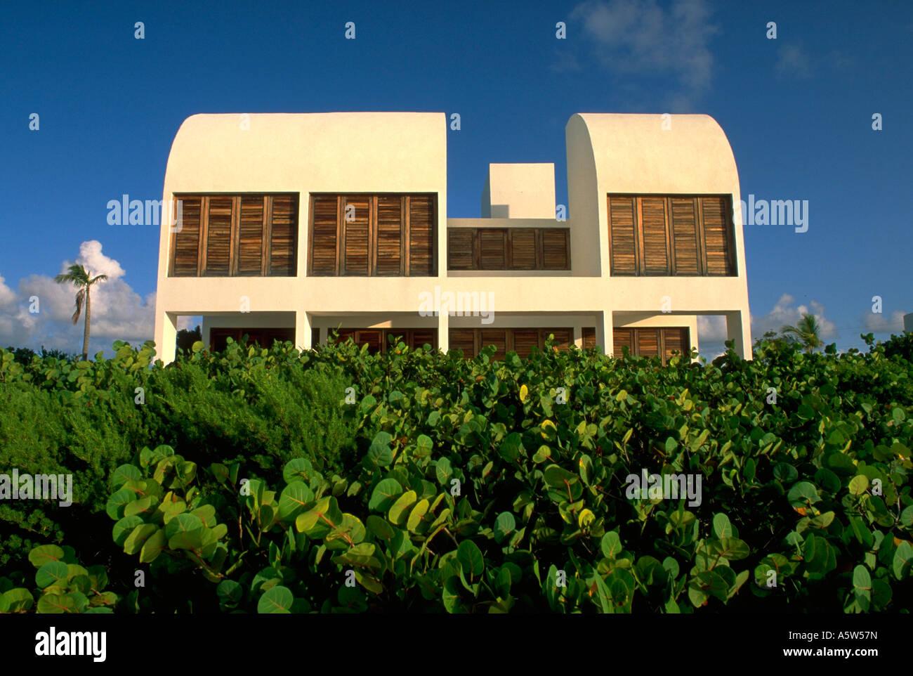 Modern Caribbean Architecture painet hl1001 architecture anguilla caribbean modern foliage front