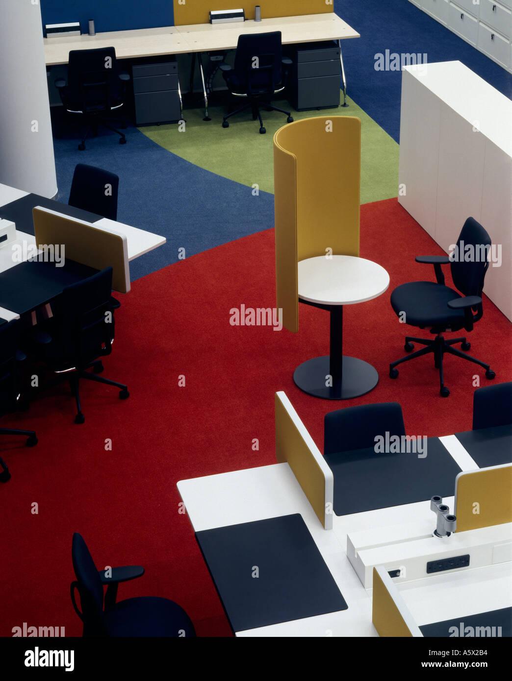 Vitra furniture in BBC offices The Mailbox Birmingham Interior