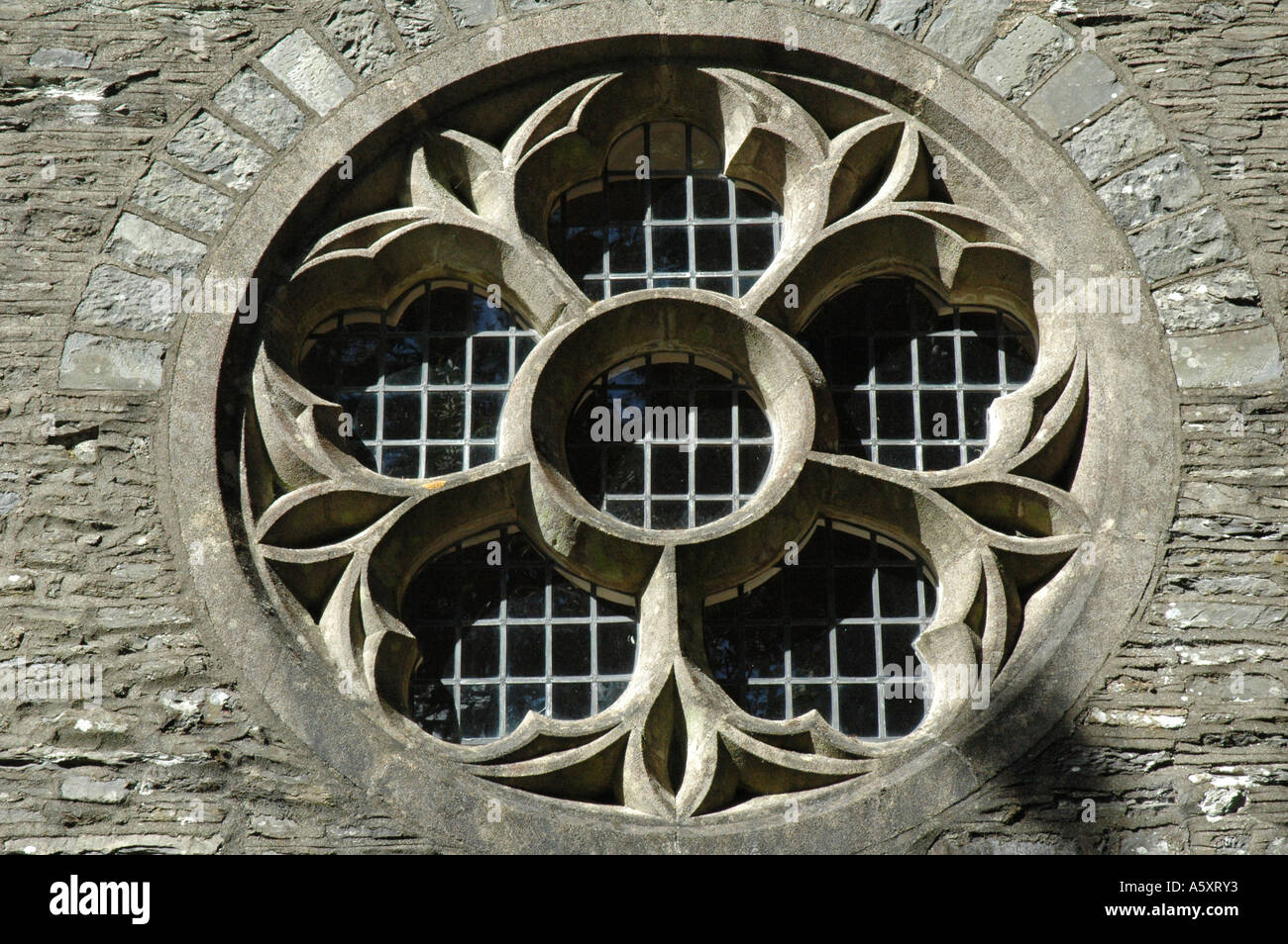Round Church Window Stock Photo 6516722