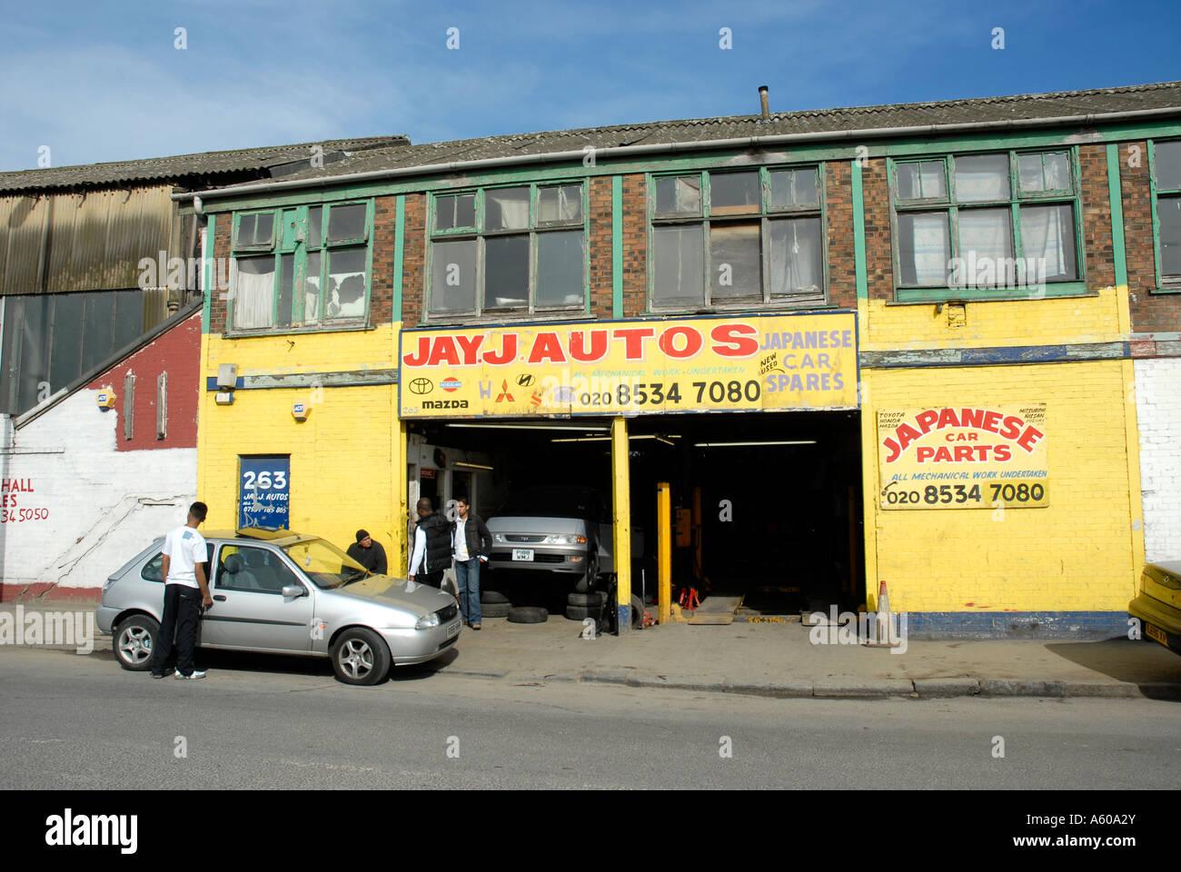 jay j autos motor mechanics garage workshop in carpenters road in jay j autos motor mechanics garage workshop in carpenters road in stratford london