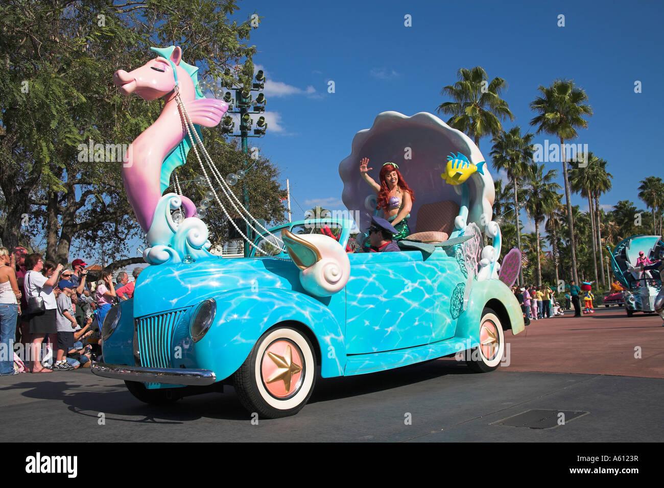Mermaid Disney Stars And Motor Car Parade Disney Mgm