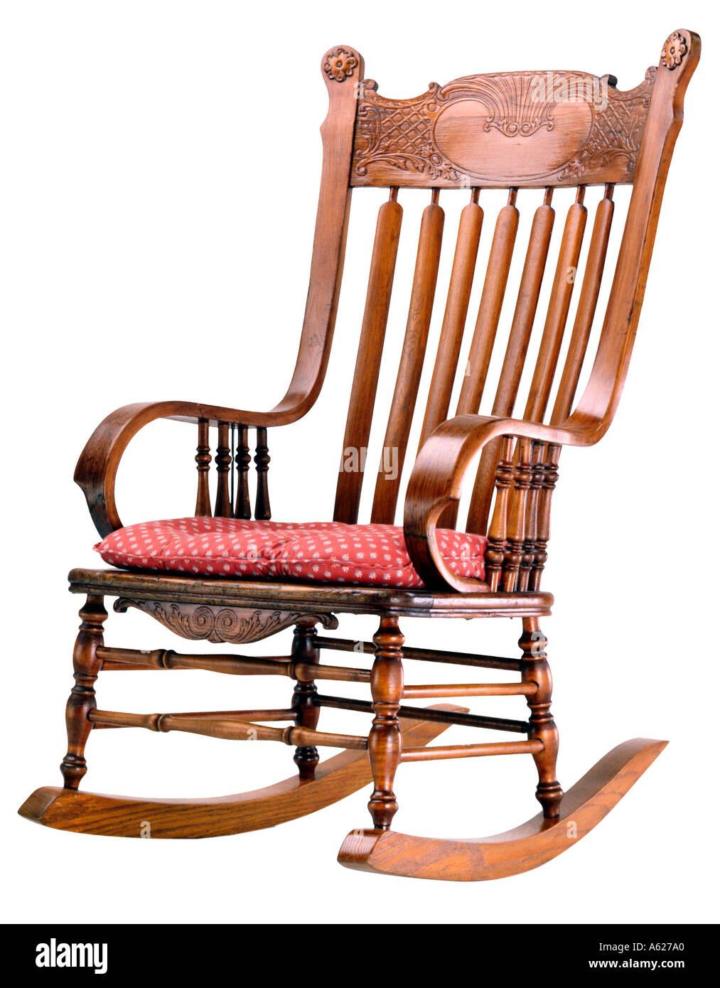 Antique oak rocking chair - Antique Oak Rocking Chair