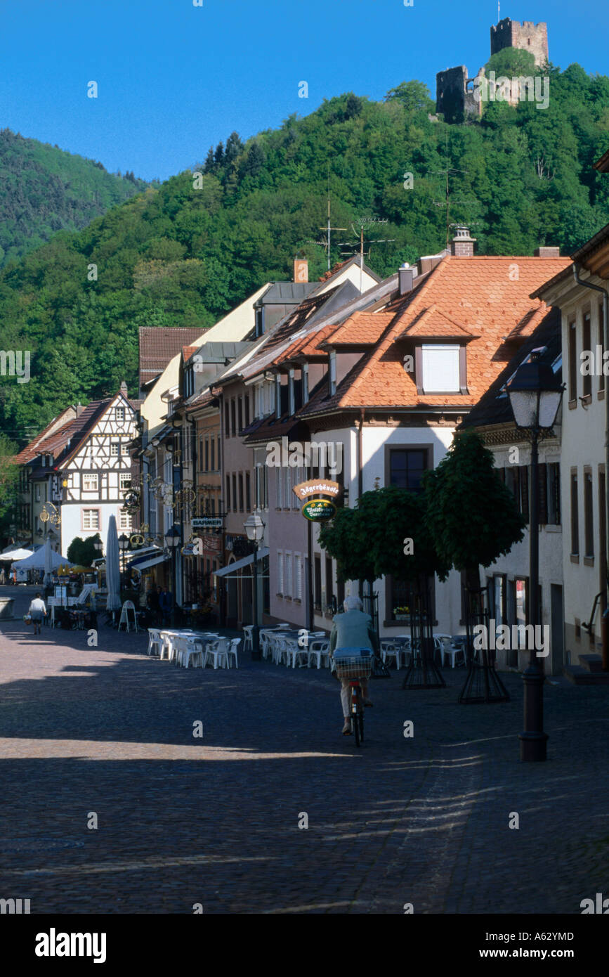 houses in town kastelberg waldkirch black forest stock photo royalty free image 6538892 alamy. Black Bedroom Furniture Sets. Home Design Ideas