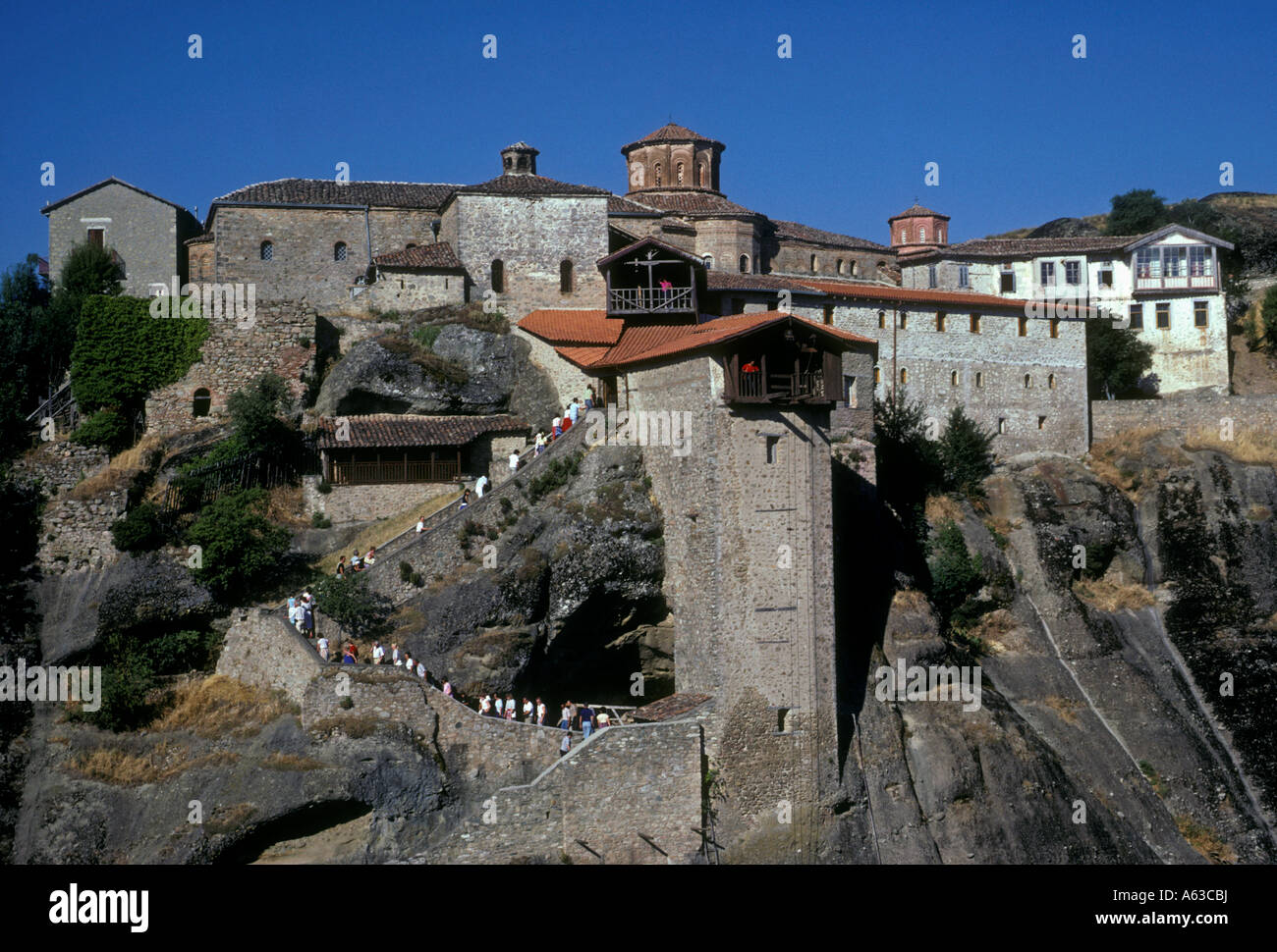 The Holy Monastery of Great Meteoron at the Meteora near ...