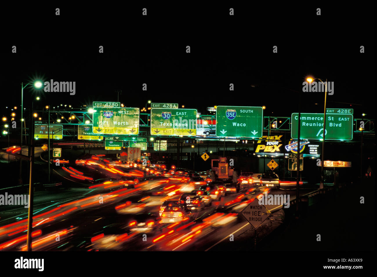 traffic at night by - photo #27