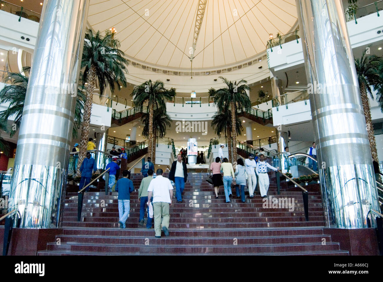 Entrance to City Center Mall Doha Qatar Stock Photo ...