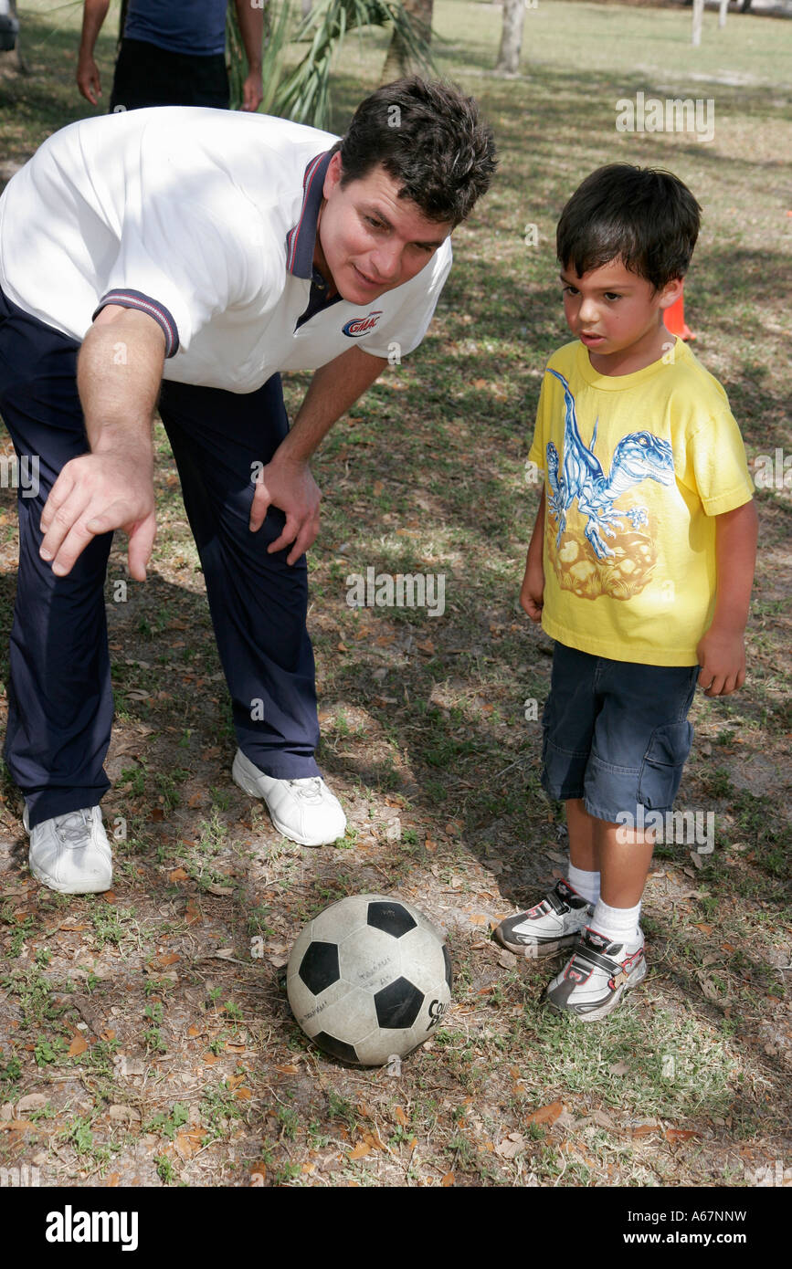 hispanic family activities. Miami Florida Kendall Family Festival Of The Arts Disabled Activities Hispanic Boy Father Soccer Ball A