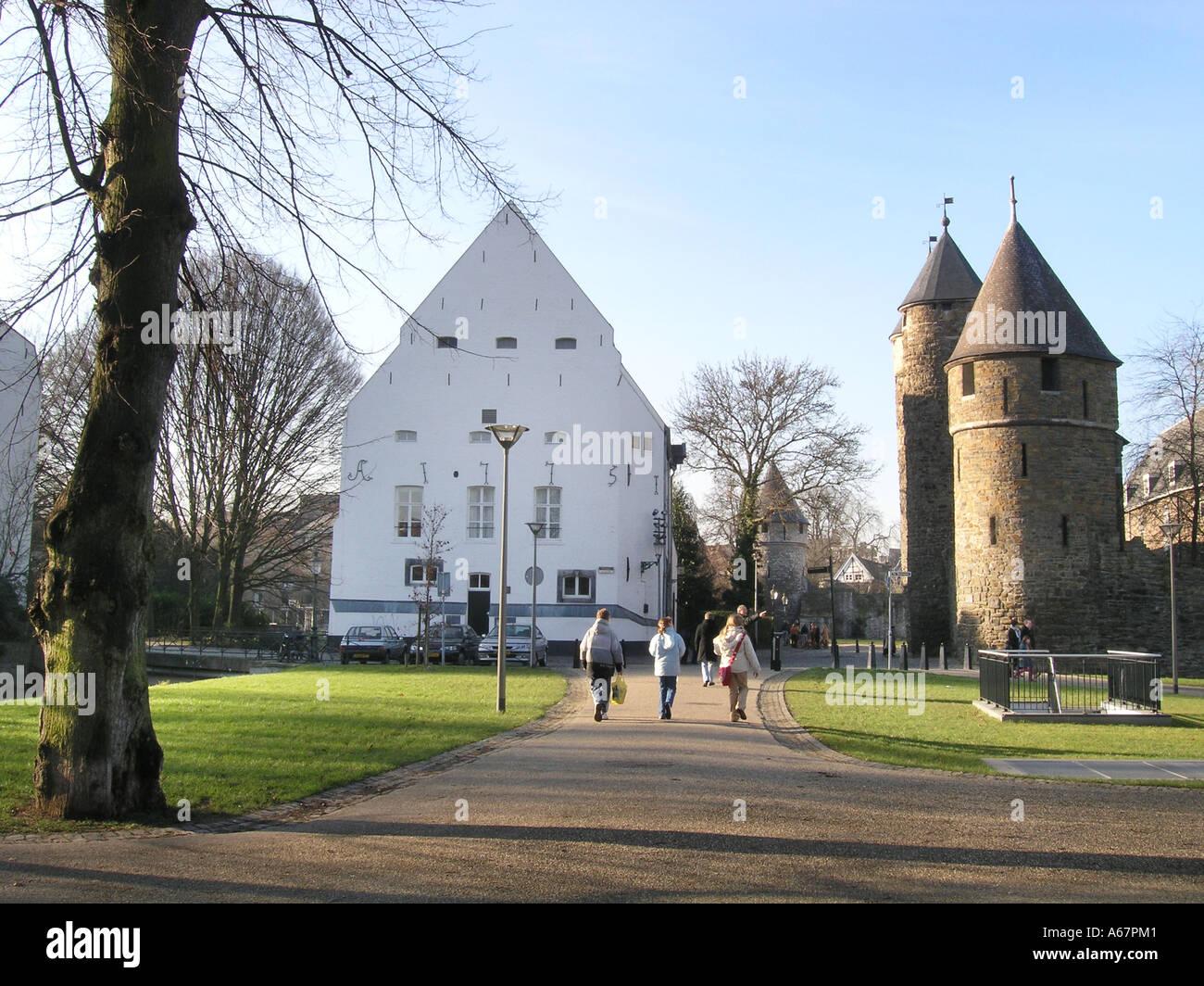 View of pesthuis and helpoort maastricht netherlands stock - Maastricht mobel ...
