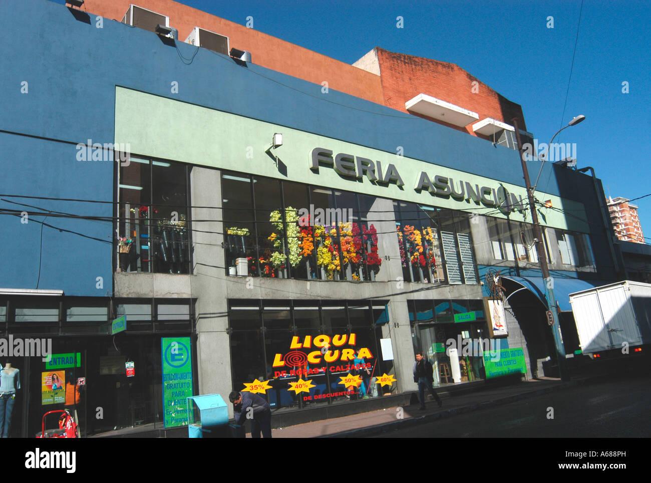 shop Asuncion Paraguay Stock Photo, Royalty Free Image ...