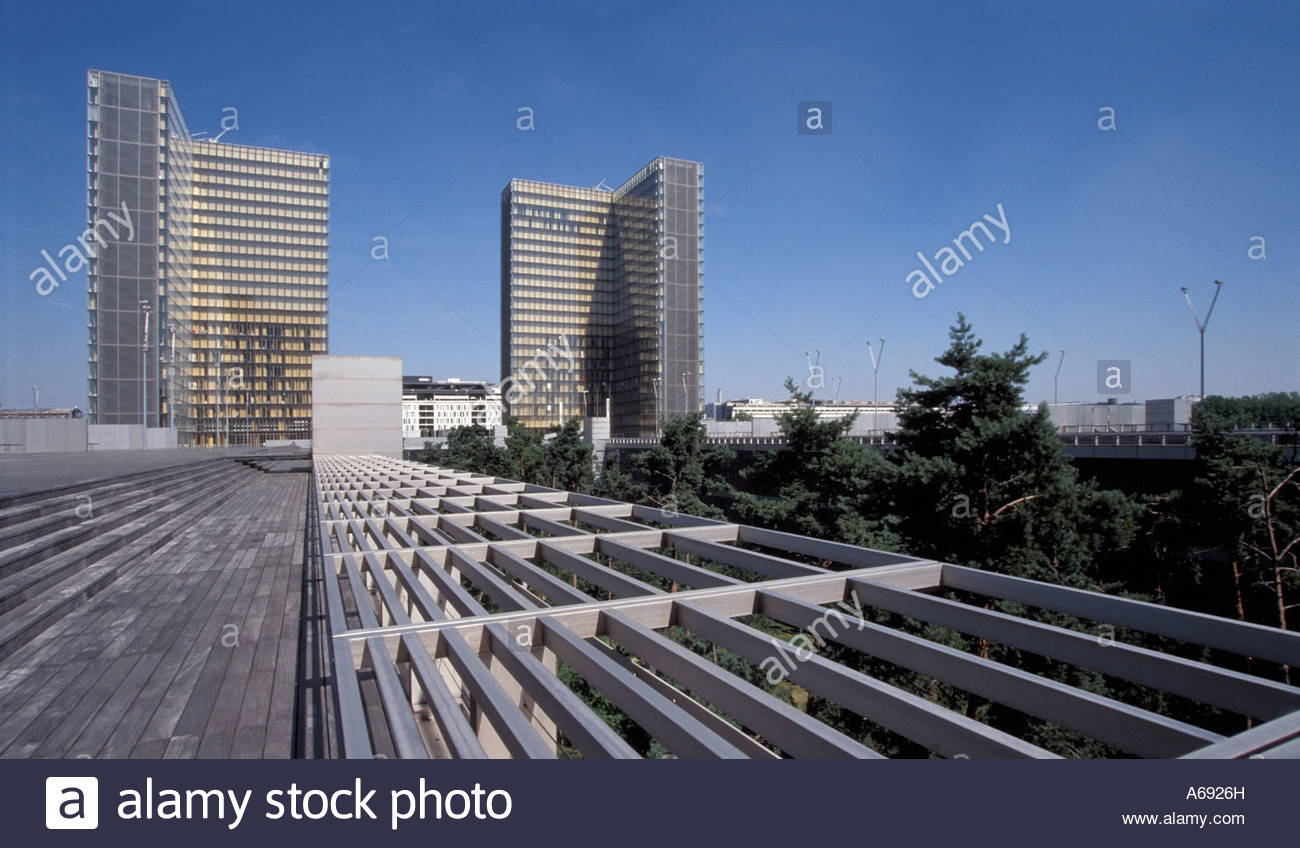 Biblioth que nationale de france bnf the national library of stock photo r - Dominique perrault bnf ...