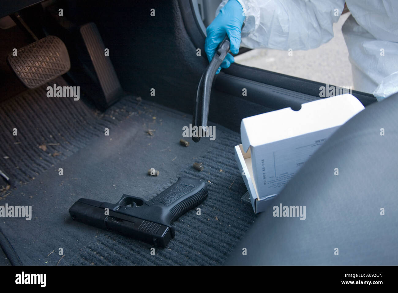 firearms at a crime scene essay