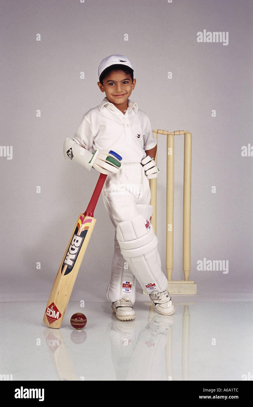 Vda77183 Indian Child Fancy Dress In Cricket Dress Boy In ...