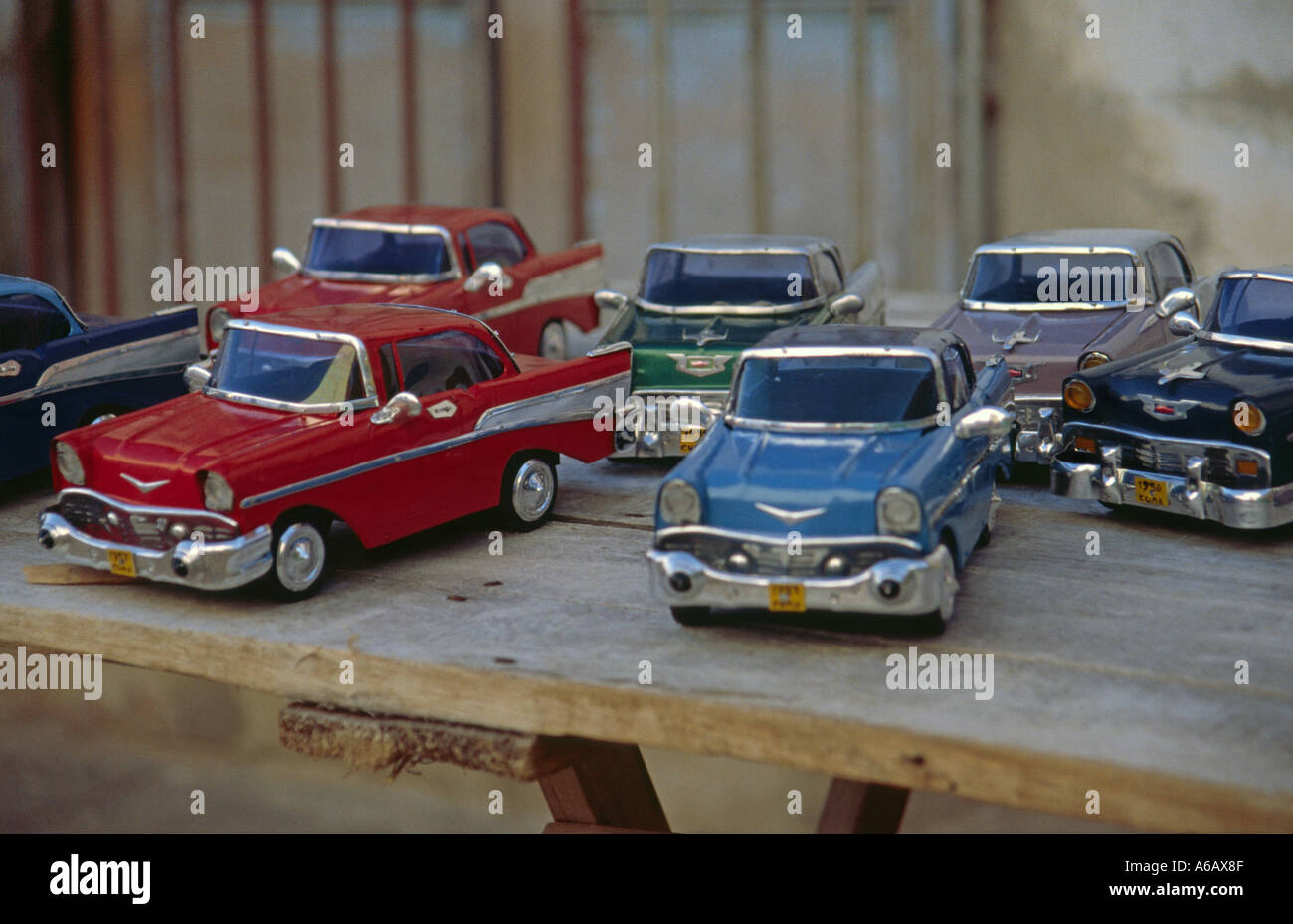 toy cars for sale at a market in trinidad cuba stock photo royalty free image 3760782 alamy. Black Bedroom Furniture Sets. Home Design Ideas