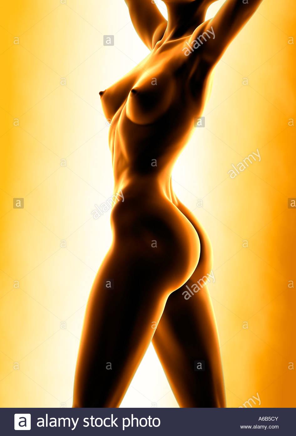 Nude female sex symbols