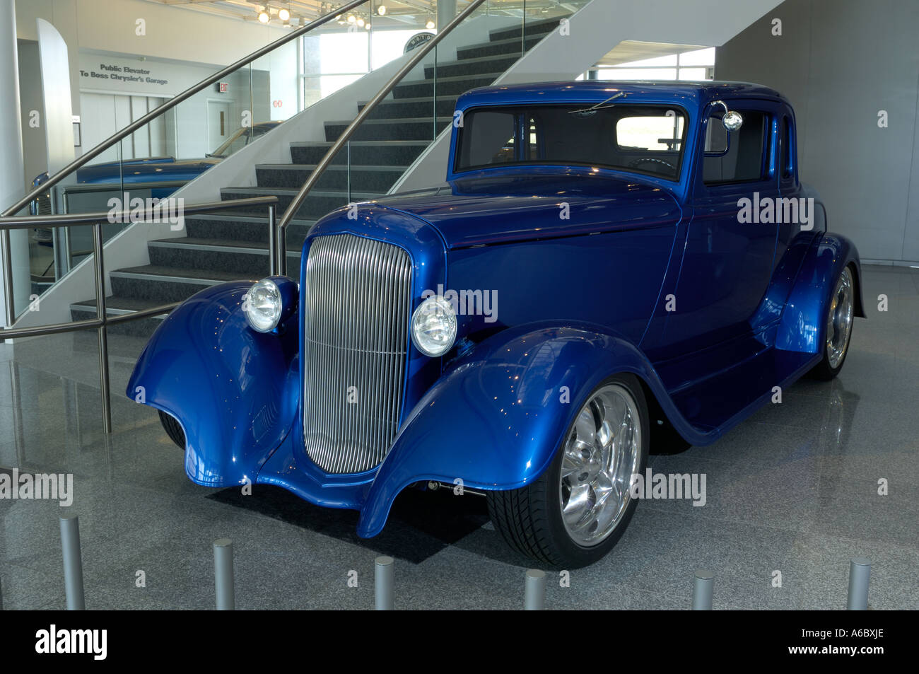 1933 Plymouth Coupe Hot Rod At The Walter P Chrysler
