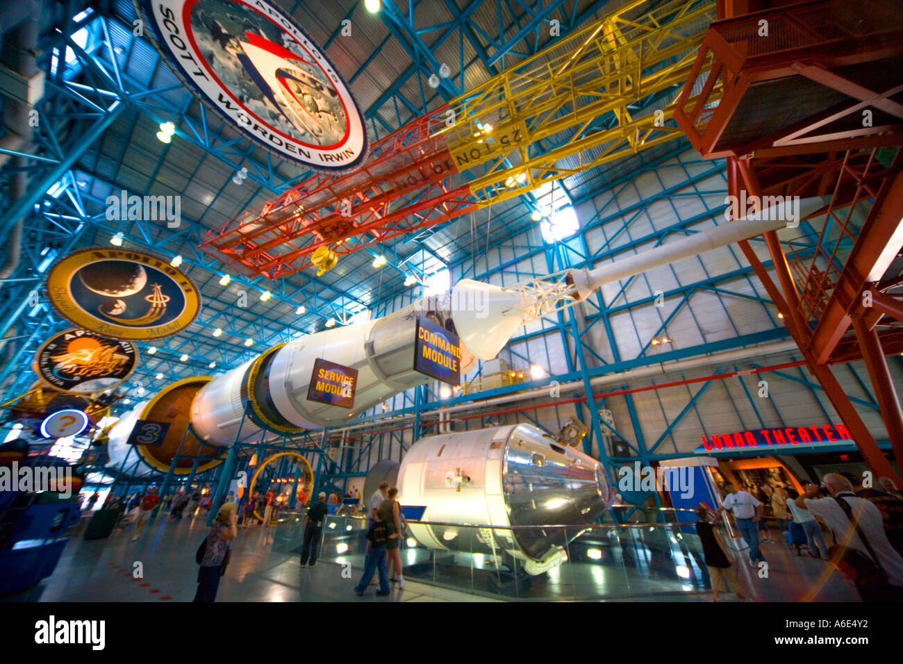Saturn Five V Rocket NASA John F Kennedy Space Center Cape - Nasa museums in usa