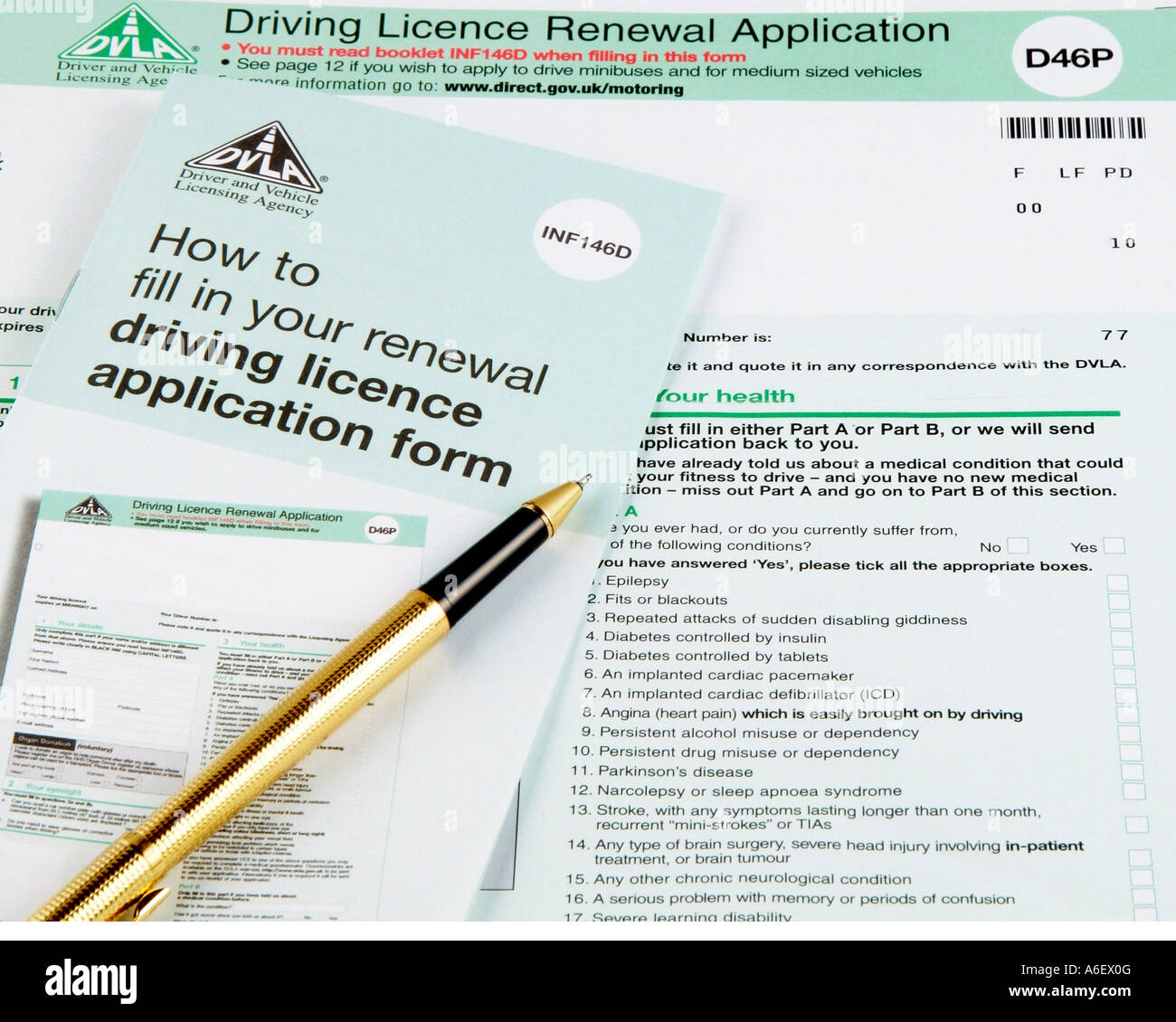 A dvla british driving licence renewal application form for Documents required for driving license