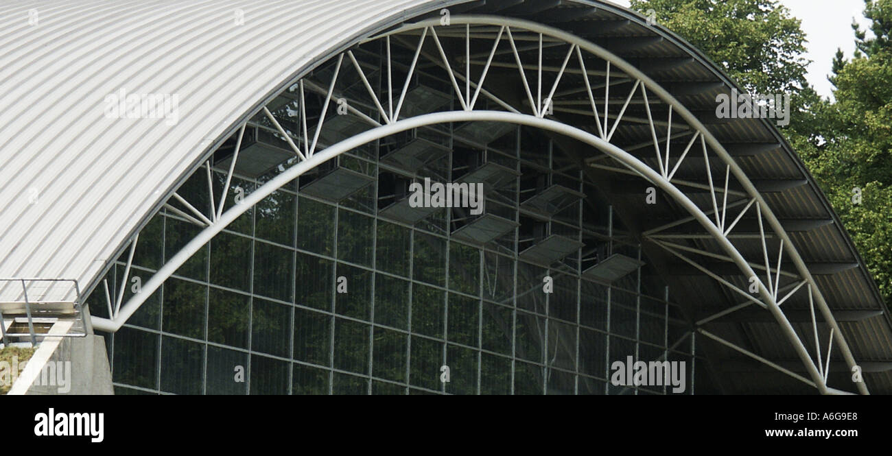 Arch Arc Roof Curve Sweep Structure Building Steel Glass