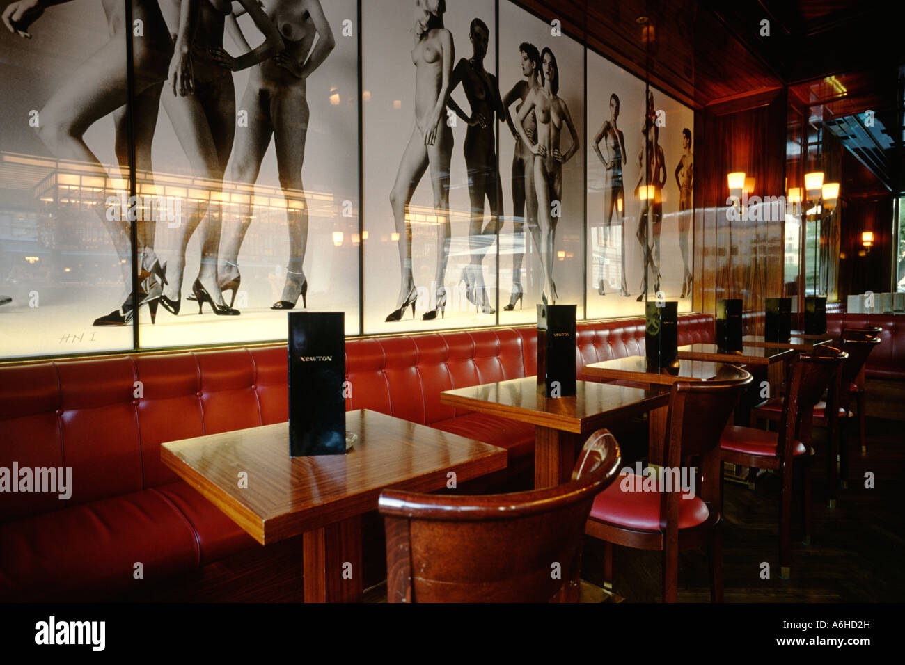 Berlin Germany Newton Bar on Charlottenstrasse with