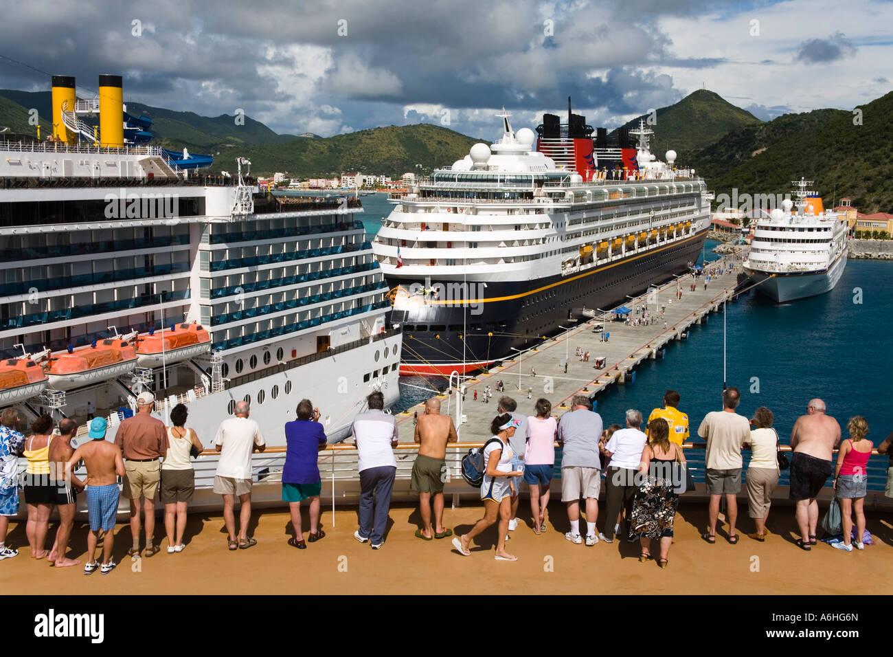 Cruise Ship Terminal Wathey Pier City Of Philipsburg St Maarten - Philipsburg st maarten cruise ship schedule