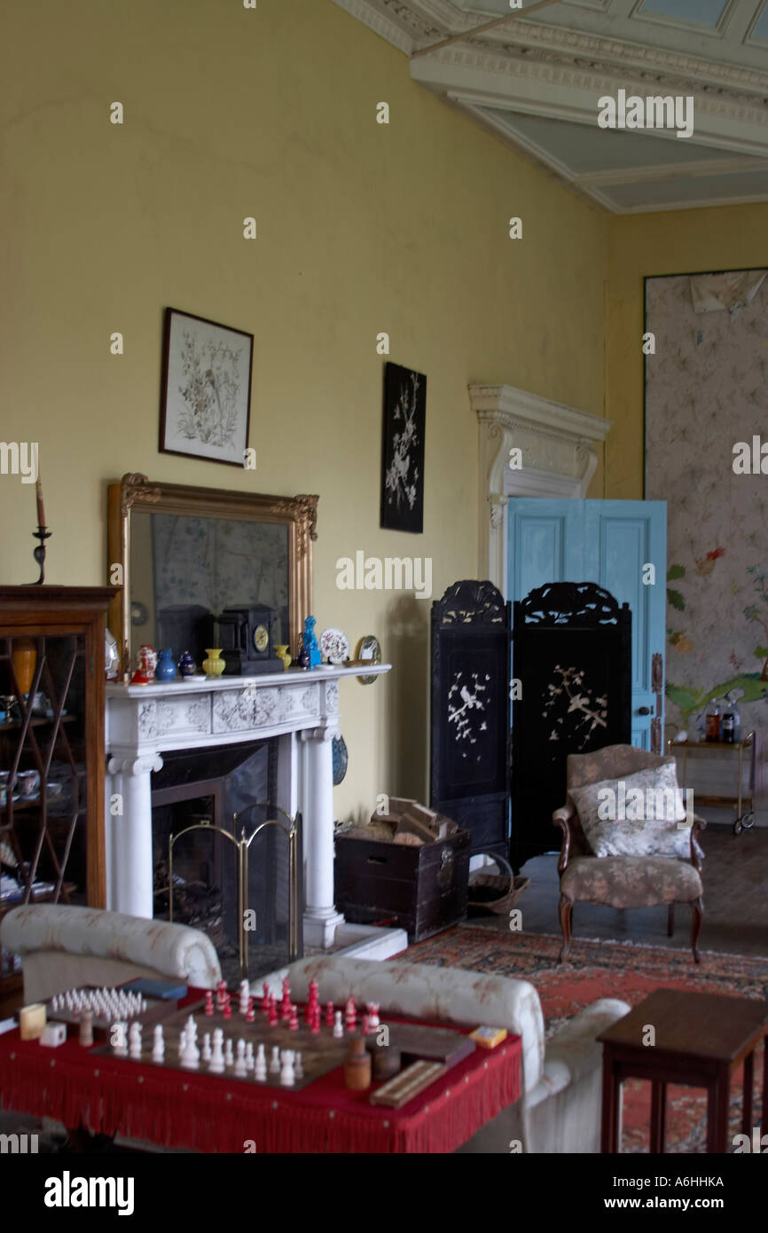 drawing room in interior of lissan house home of hazel dolling co