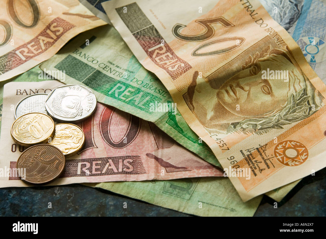 Brazilian currency real s stock photo 6636326 alamy brazilian currency real s biocorpaavc Image collections