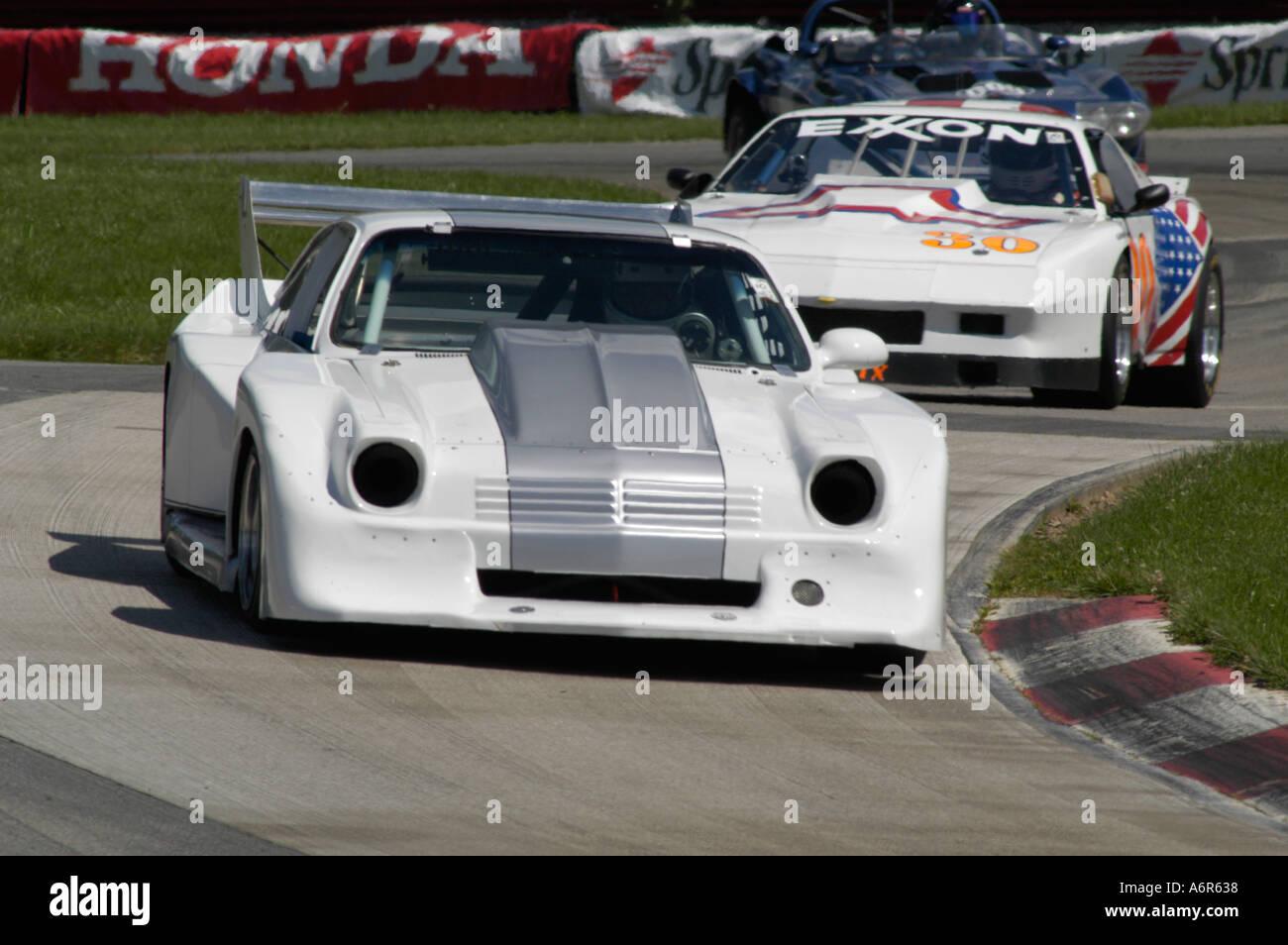 Dan Furey races his 1978 Chevrolet Vega at the SVRA Sprint Vintage ...