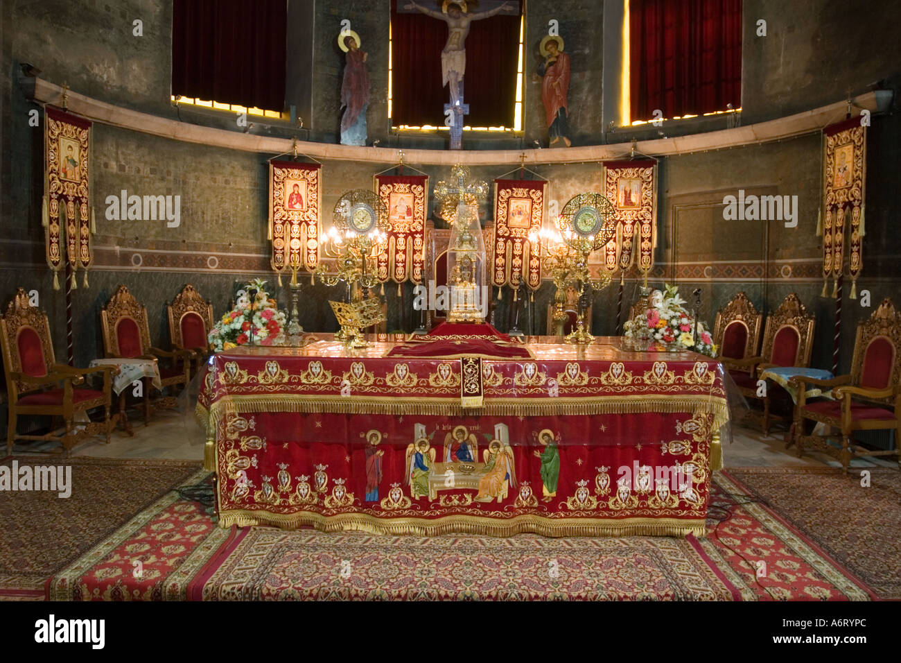 "altar is a sign of religious During the liturgy of the eucharist, the church uses various signs to ""continually  makes  28, adding that ""this was the first christian altar."