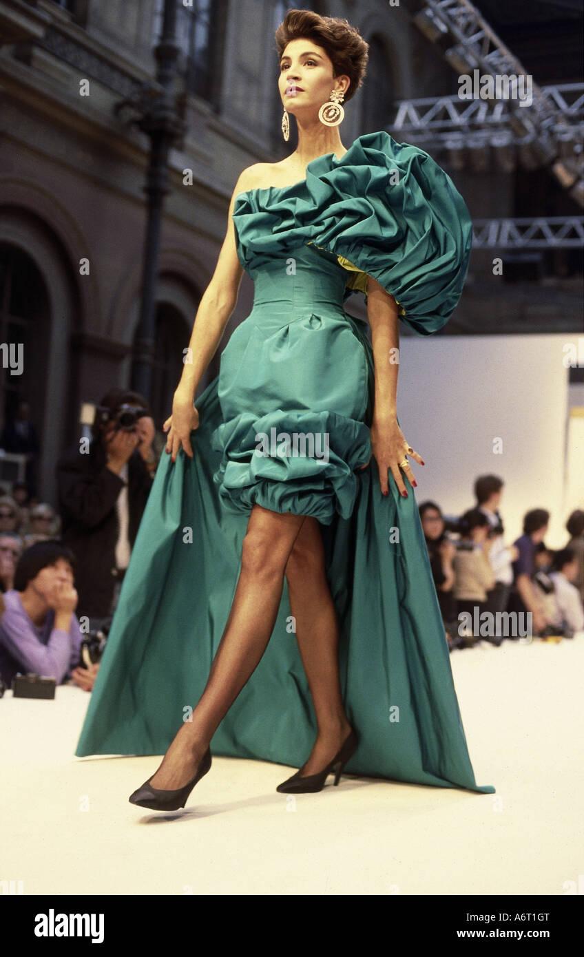fashion 1980s mannequin full length wearing evening. Black Bedroom Furniture Sets. Home Design Ideas