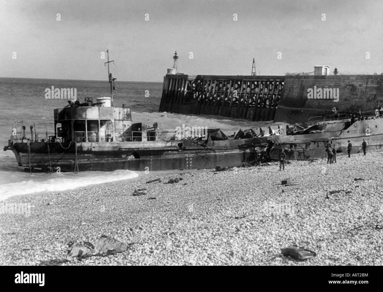 World War  British Landing Craft