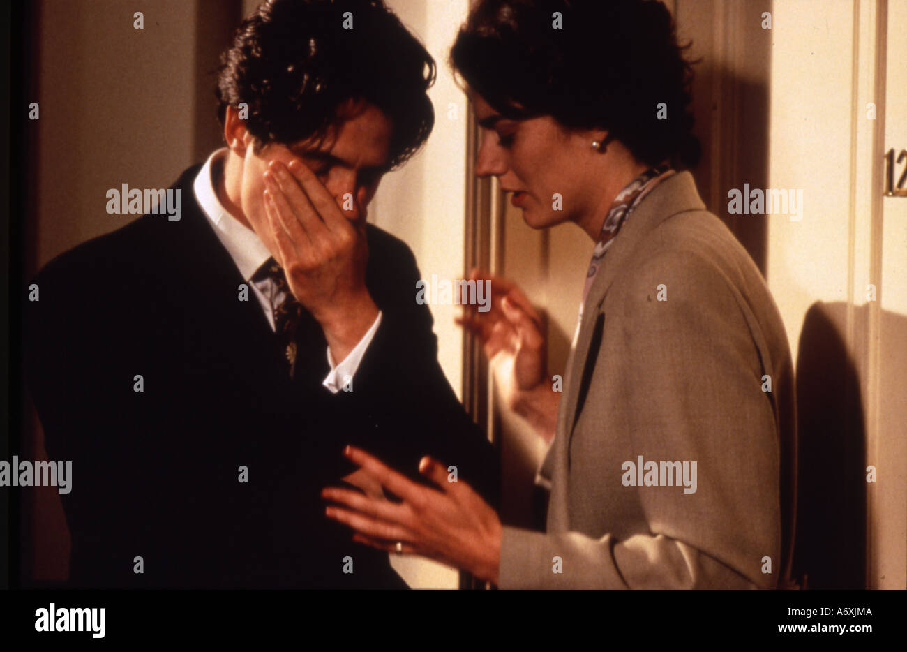 Four Weddings And A Funeral Gallery: FOUR WEDDINGS AND A FUNERAL Hugh Grant And Anna Chancellor