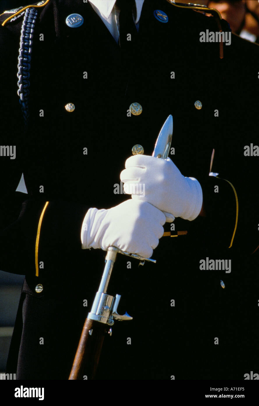 Army dress white gloves