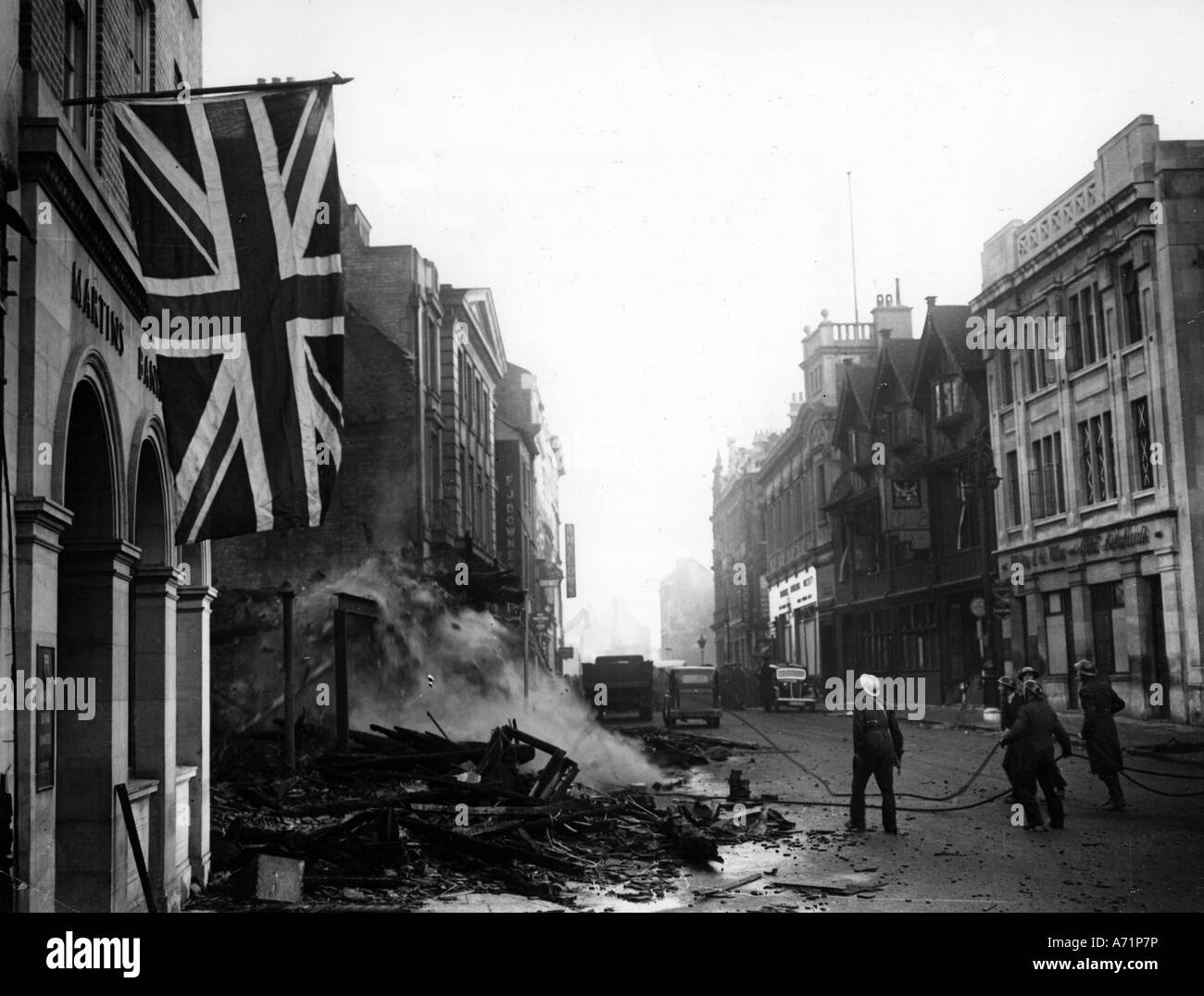 England after WW2: Some information?