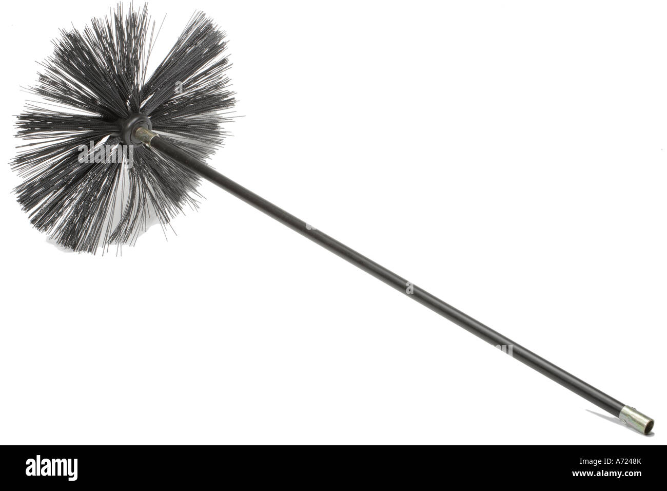 Chimney Sweeps Brush And Rods Stock Photo Royalty Free