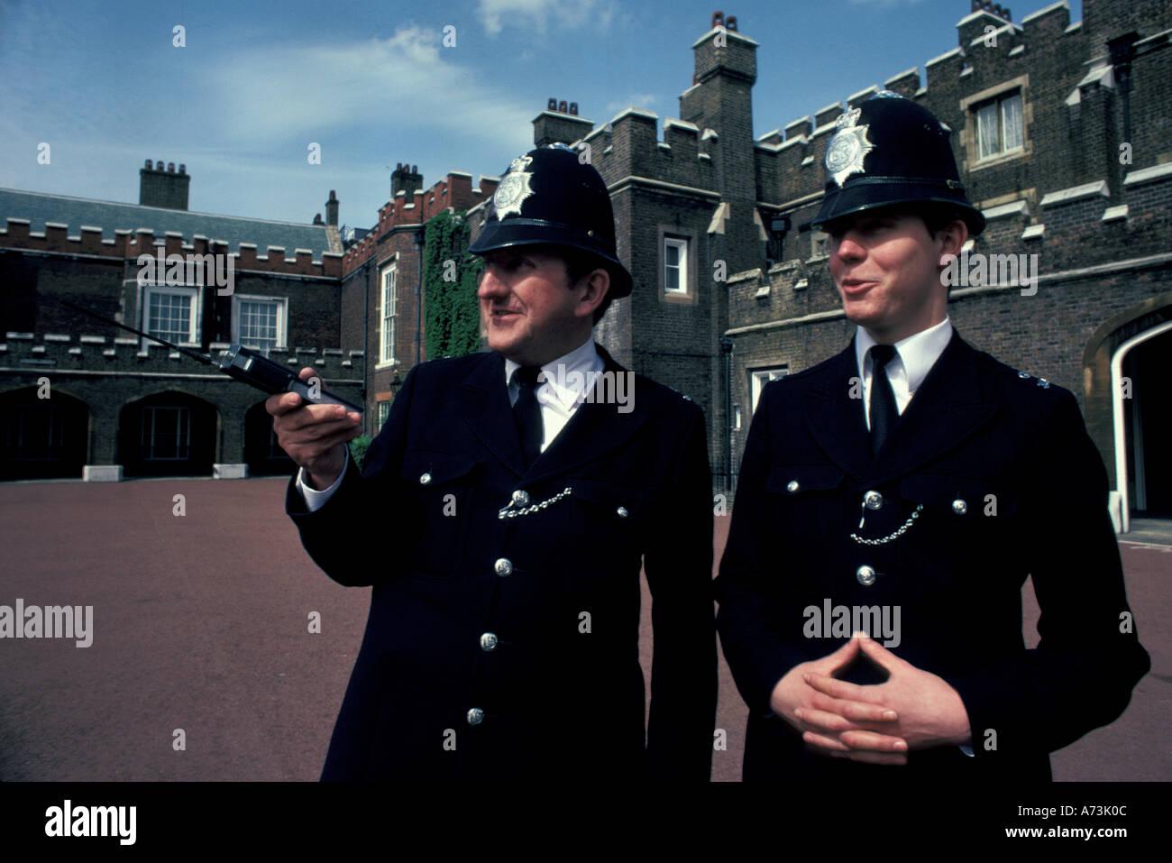 England, London. Bobbies (Police Stock Photo, Royalty Free ...