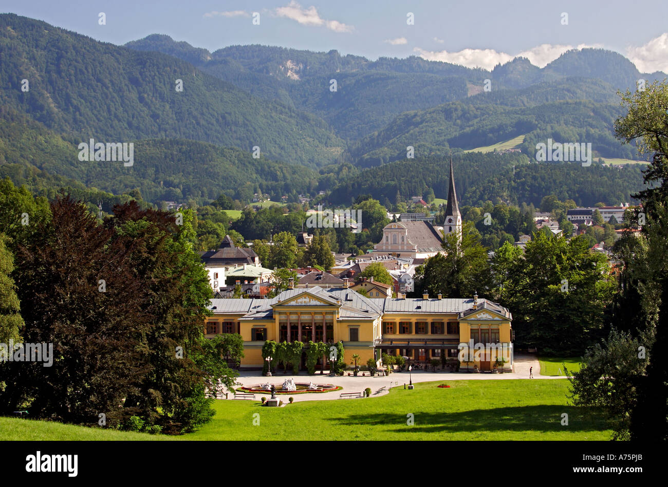 bad ischl sterreich bad ischl austria stock photo royalty free image 6704554 alamy. Black Bedroom Furniture Sets. Home Design Ideas
