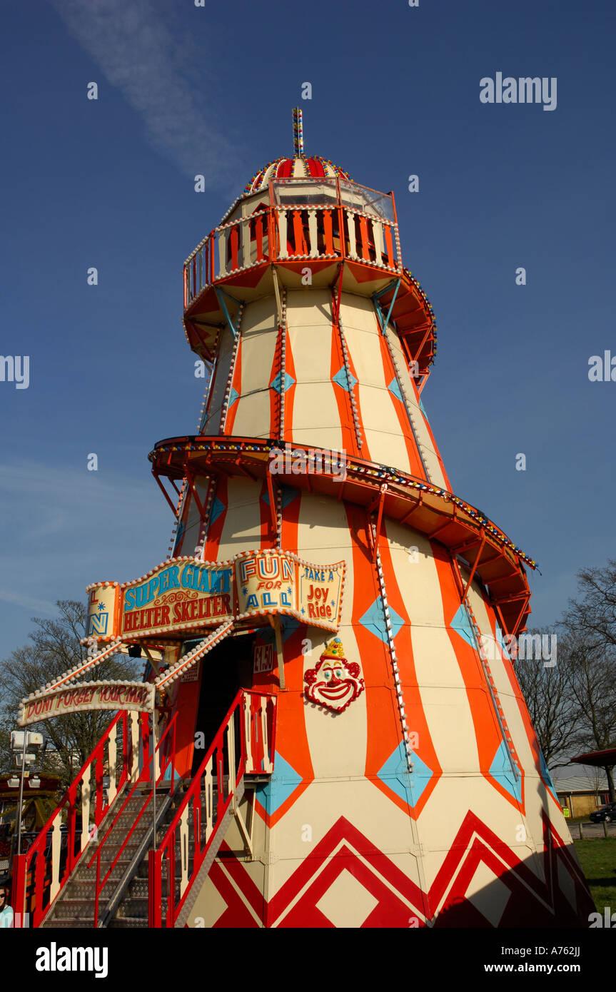 Fairground Rides Stock Photo Royalty Free Image 11735801
