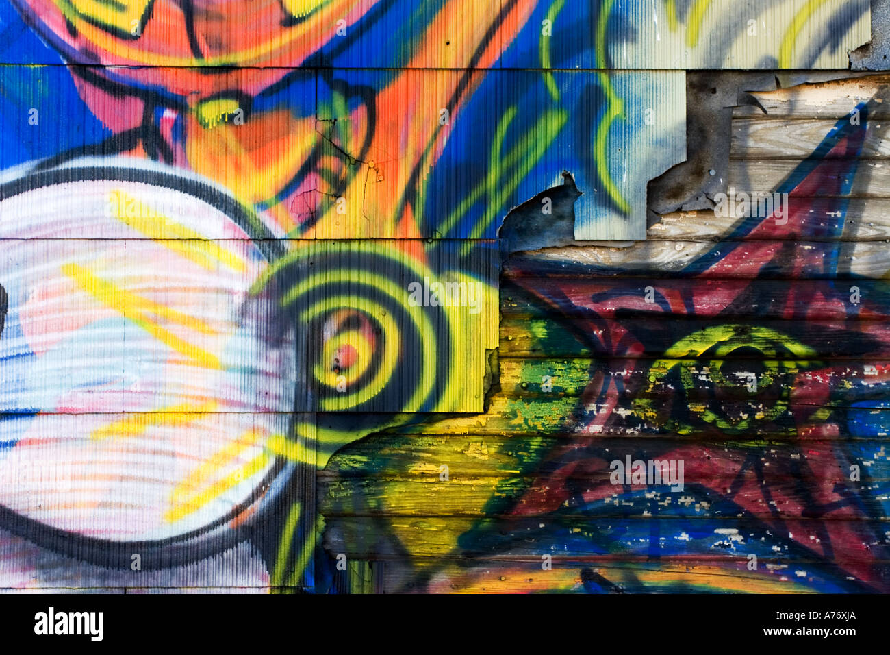 Graffiti wall painting - Stock Photo Wall Painting Shake Multi Color Street Art Graffiti