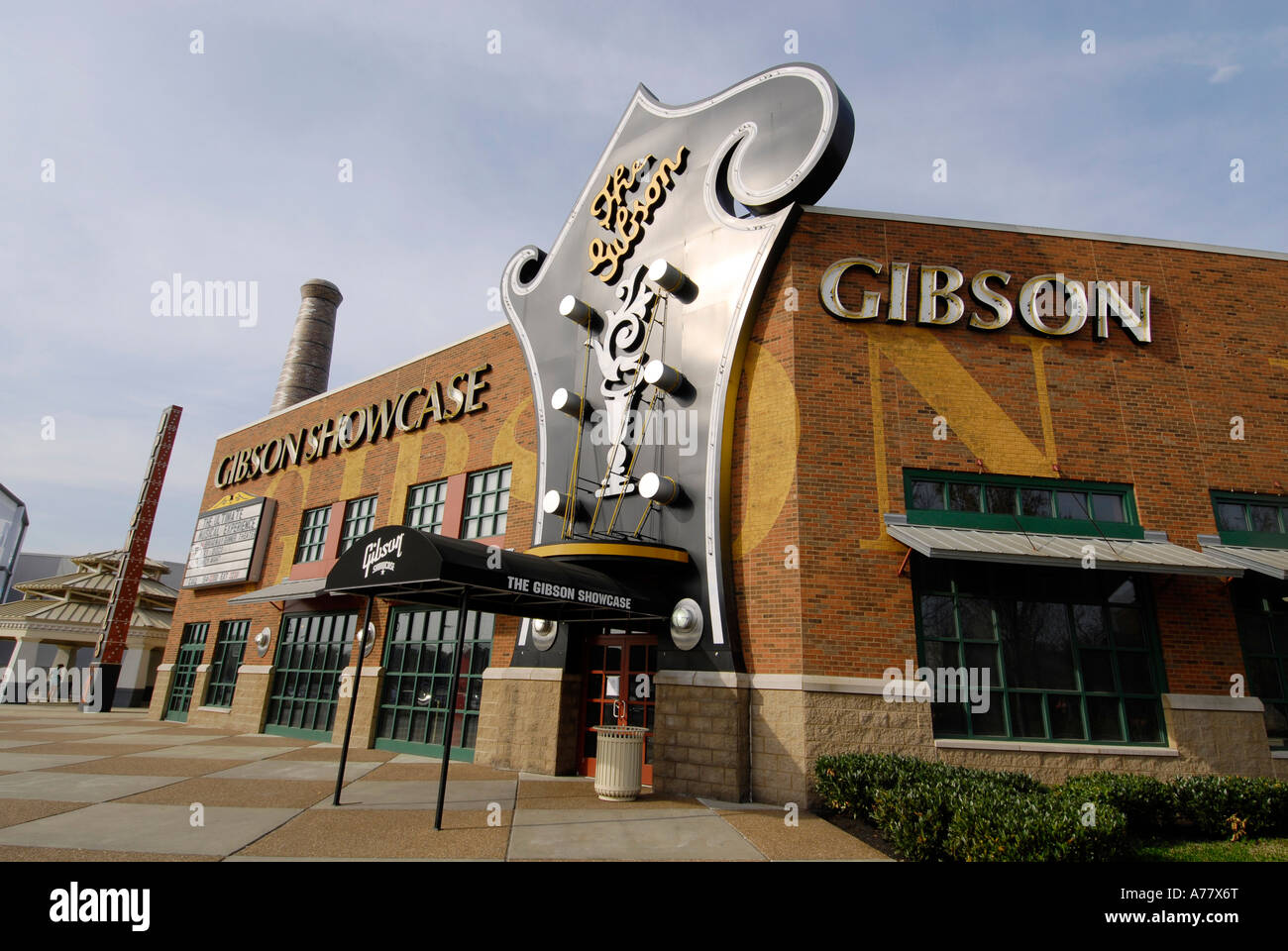 Gibson Showcase And Museum Nashville Tennessee TN Tenn US USA - Music museums in usa