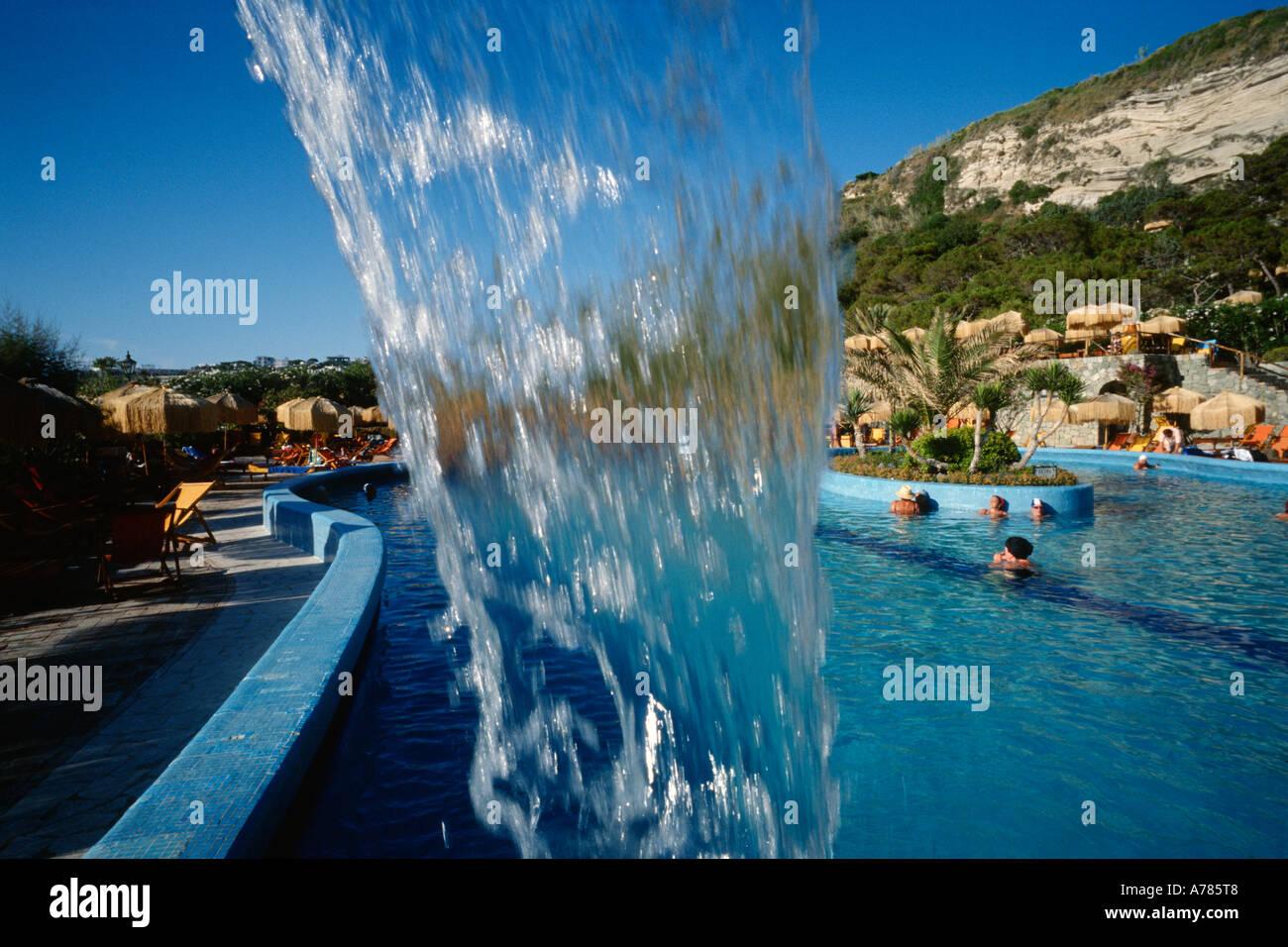 Ischia italy the thermal spa resort of giardini poseidon stock photo royalty free image - Giardini di poseidon ischia ...