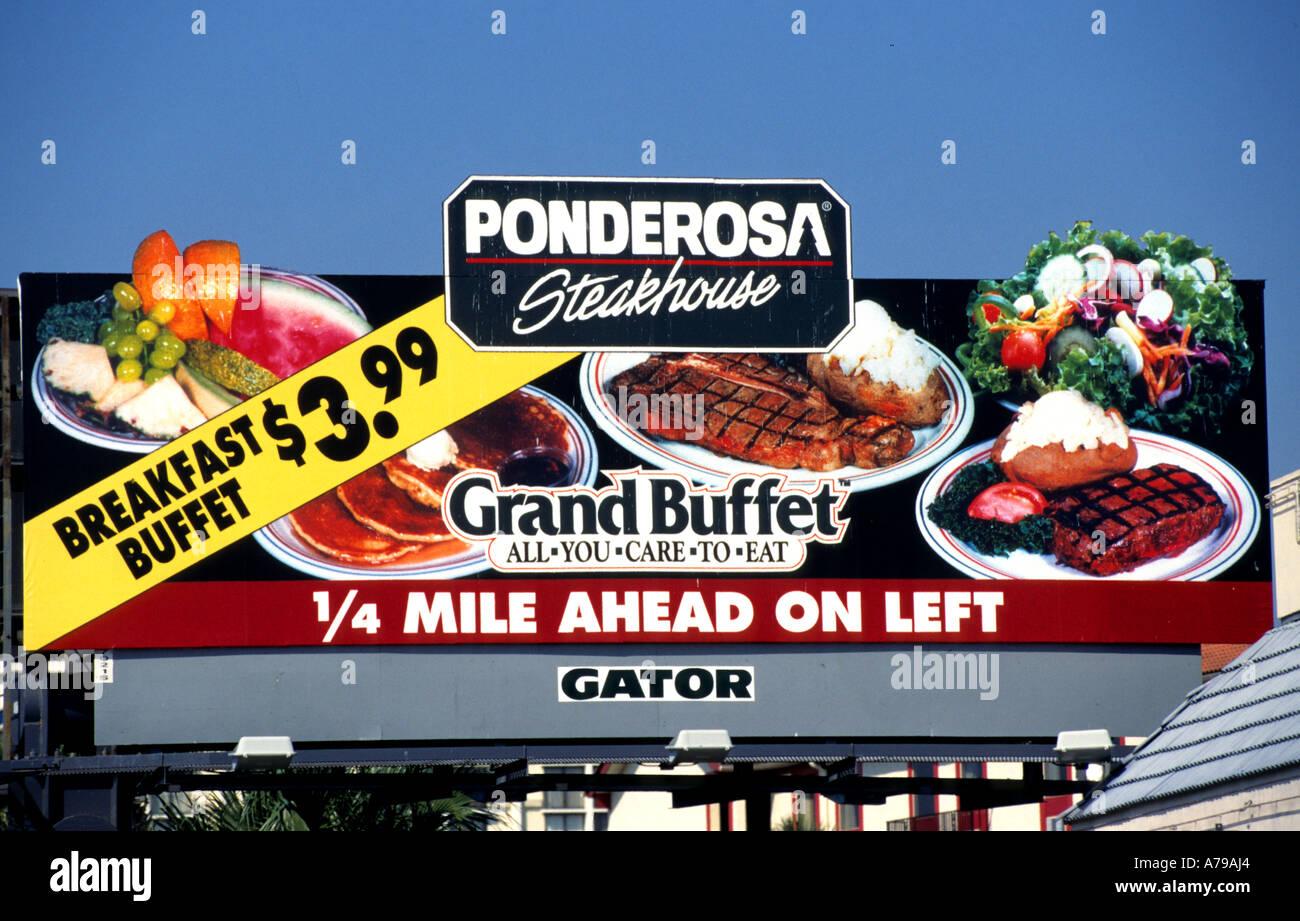 cool ponderosa steakhouse grand buffet meat florida united. Black Bedroom Furniture Sets. Home Design Ideas