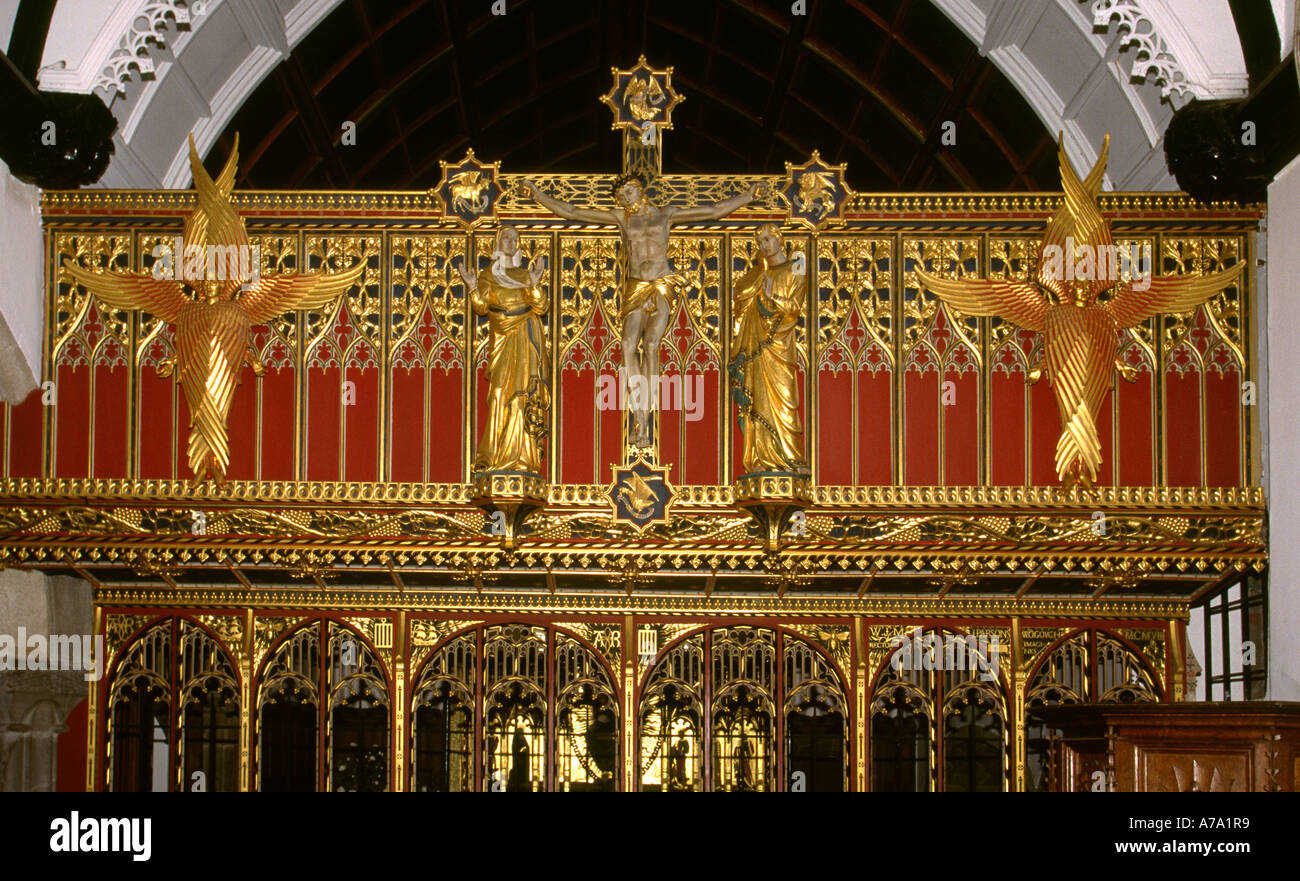 how to make gilded altar