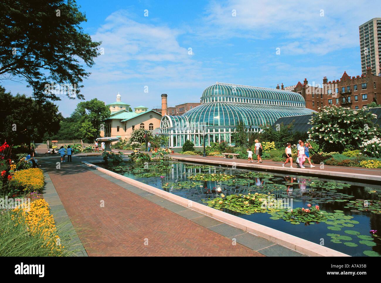 Brooklyn Botanic Garden Parking Garden Ftempo