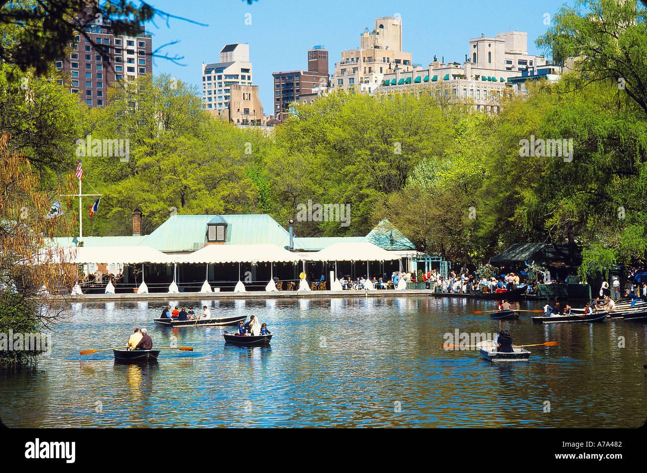 Boathouse Cafe Central Park New York