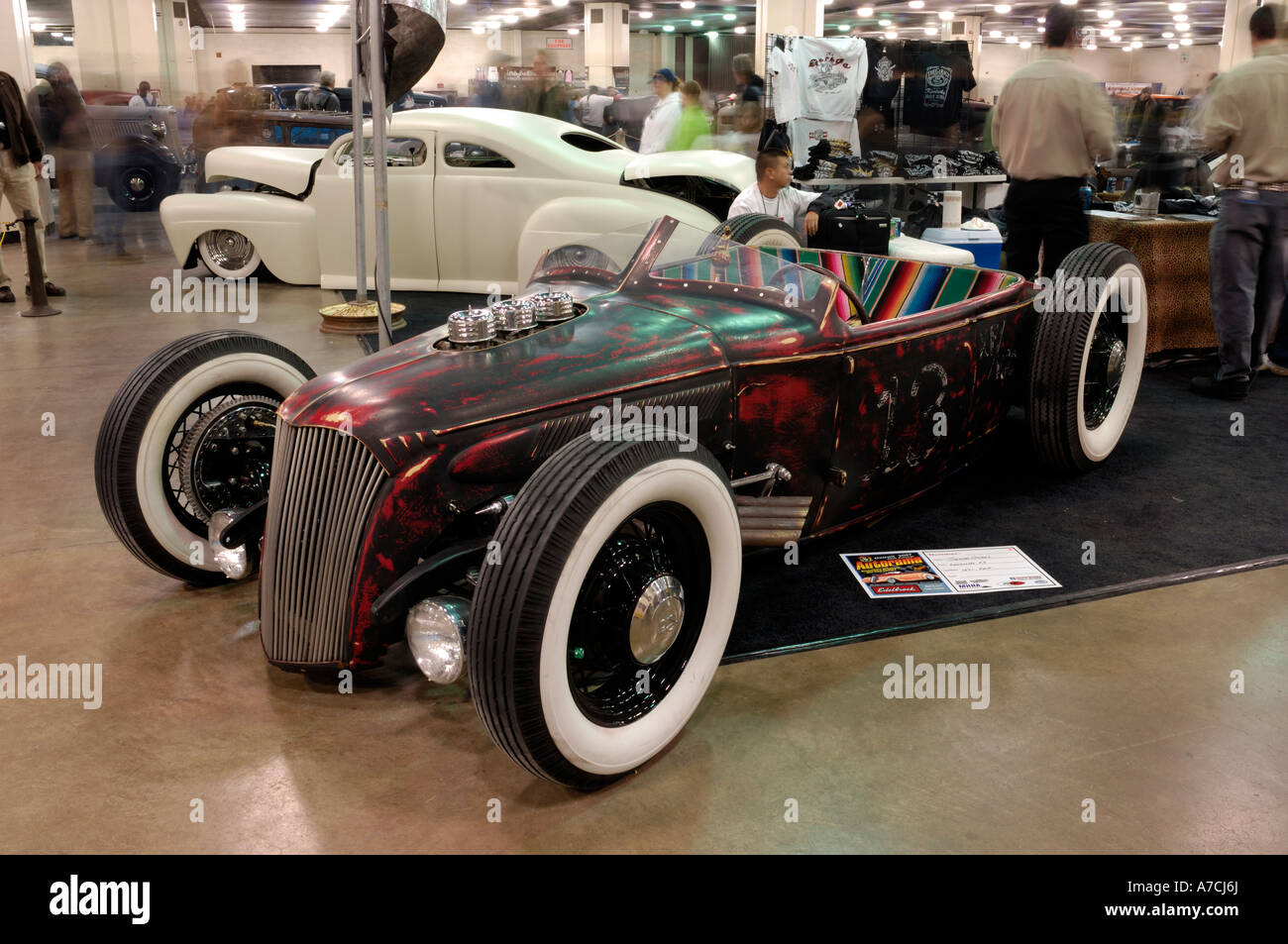 1931 Ford traditional hot rod at the 2007 Detroit Autorama Stock ...