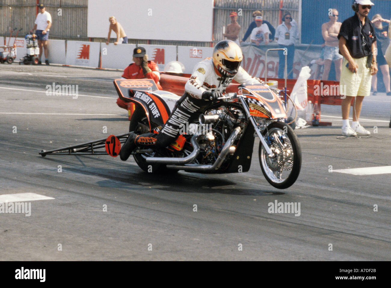 Adam Hewitts Nitro Harley Davidson Drag Racing Bike Racing V Twin