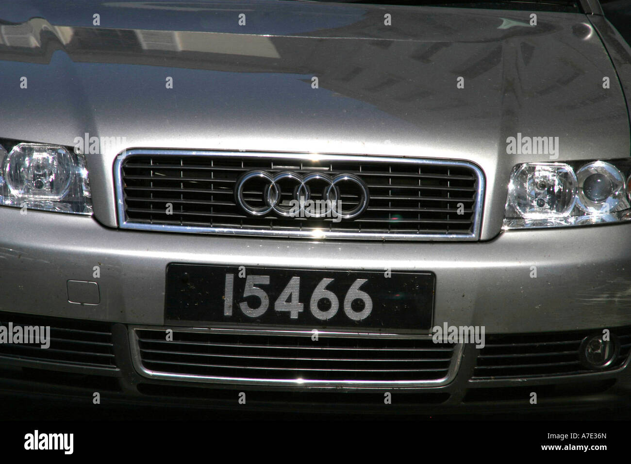 Guernsey Car Number Plate Stock Photo Royalty Free Image - Audi car number